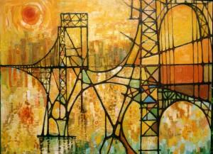 Bridge+to+the+City++Vic+Atkinson