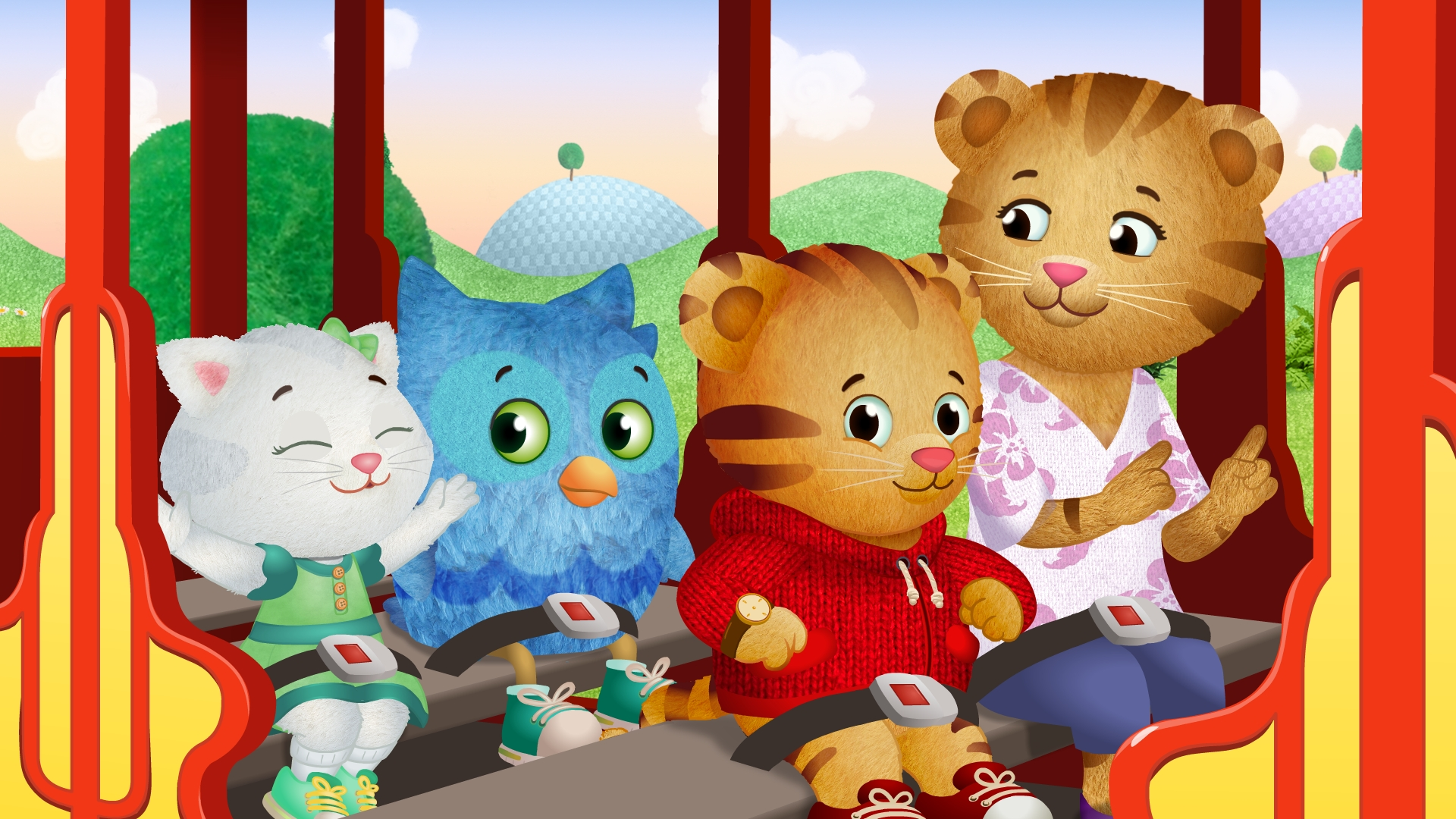 Press Release 9 Story Producing Daniel Tiger S Neighborhood Based On The Characters From Mr Rogers Neighborhood Cartoon North