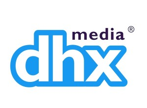 DHX animation job logo