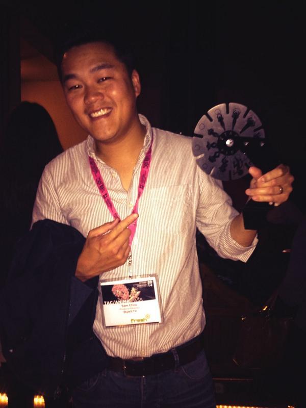 Sam Chou! photo courtesy of Mike Geiger