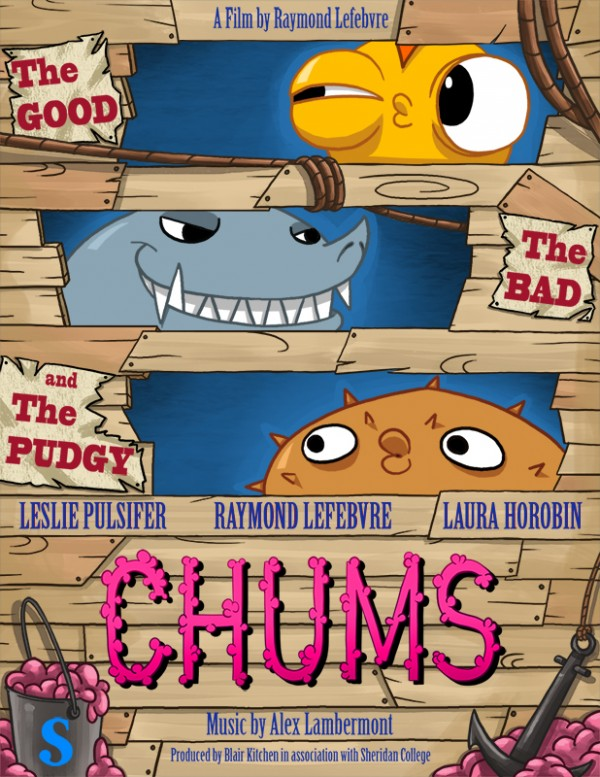 chums, animation, cartoon