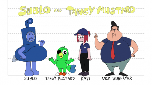 aaron long, sublo and tangy mustard, animation news, animation site