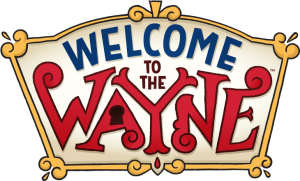 Welcome to the Wayne, Logo, Nickelodeon, Animation