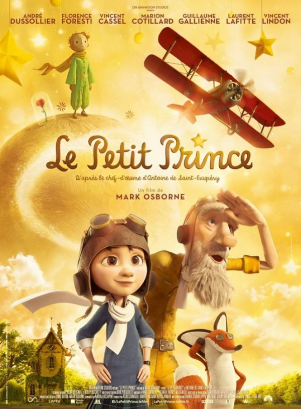 the little prince movie poster aniamtion